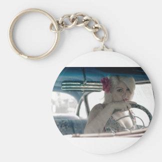 Driving Doris Keychain