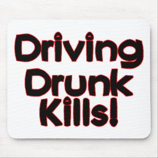 Driving Drunk Kills Mouse Pad