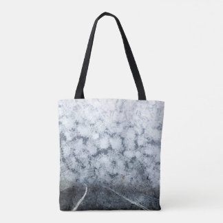 Driving during thick fog tote bag