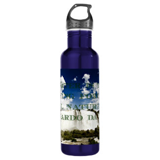 Driving force of nature stainless steel water bottle