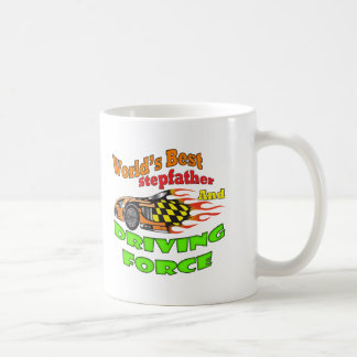 Driving Force Stepfather Father's Day Gifts Classic White Coffee Mug