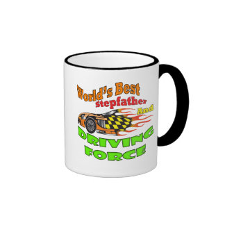 Driving Force Stepfather Father's Day Gifts Ringer Coffee Mug