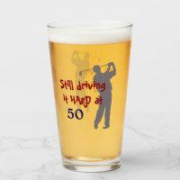 Driving Golf Hard at 50 Glass