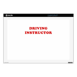 "Driving Instructor Decals For 17"" Laptops"