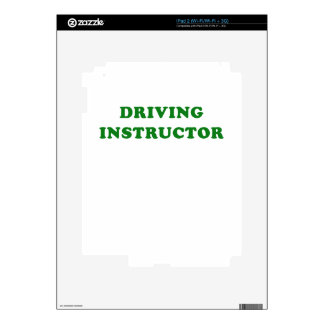 Driving Instructor iPad 2 Skins