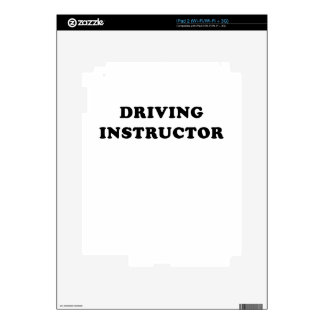 Driving Instructor Skin For iPad 2