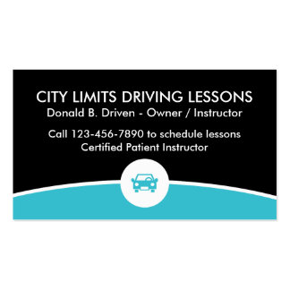 Driving Lessons Business Card