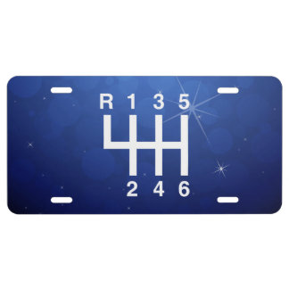 Driving Lessons Pictograph License Plate