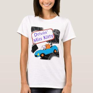 Driving Miss Kitty T-Shirt