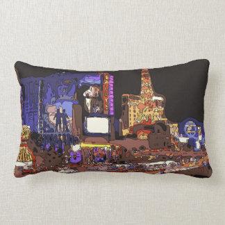 Driving on the Las Vegas Strip Pillow