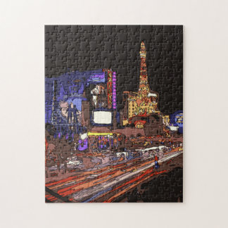 Driving on the Las Vegas Strip Puzzle