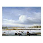 Driving on the Neva, 1854 Postcards