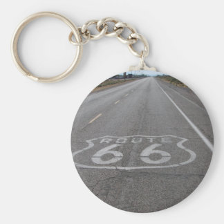 Driving Route 66 Keychain