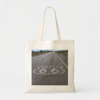 Driving Route 66 Tote Bag