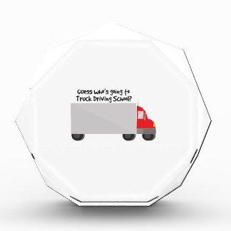 Driving School Acrylic Award