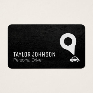 Driving Service Business Card