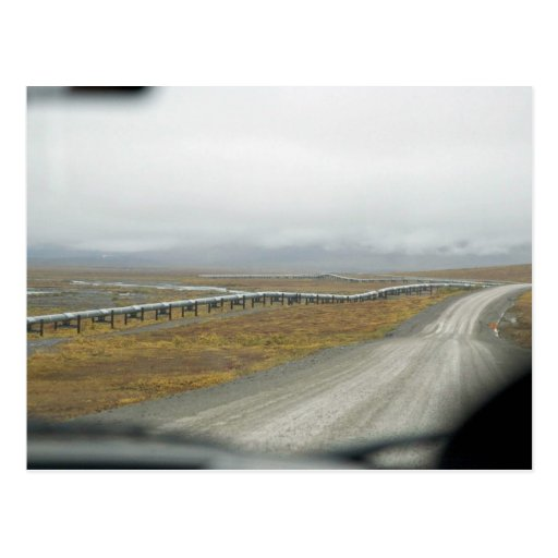 Driving the Dalton Highway Postcard
