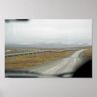 Driving the Dalton Highway Print