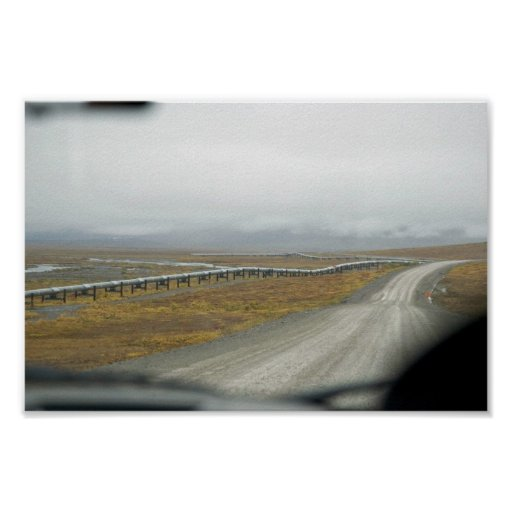 Driving the Dalton Highway Poster