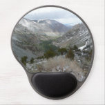 Driving Through the Snowy Sierra Nevada Mountains Gel Mouse Pad