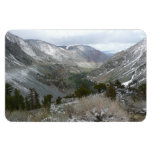 Driving Through the Snowy Sierra Nevada Mountains Magnet