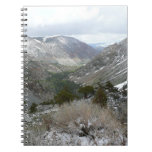 Driving Through the Snowy Sierra Nevada Mountains Notebook
