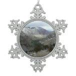 Driving Through the Snowy Sierra Nevada Mountains Ornaments