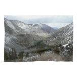 Driving Through the Snowy Sierra Nevada Mountains Towel