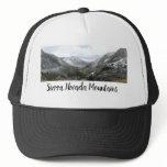 Driving Through the Snowy Sierra Nevada Mountains Trucker Hat