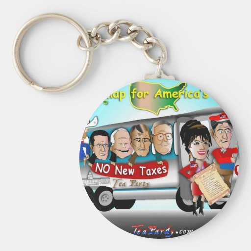 Driving USA Key Chains