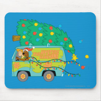 Driving While Merry Mouse Pad