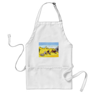 Driving Your Senses Adult Apron