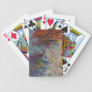 Drizzled Bicycle Playing Cards