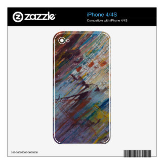 Drizzled iPhone 4 Decal