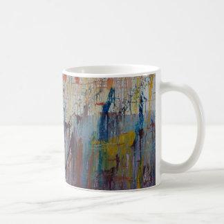 Drizzled Classic White Coffee Mug