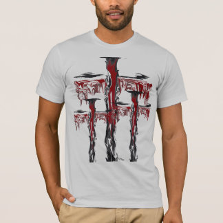 """""""Drizzled Suspension"""" by Michael Crozz T-Shirt"""