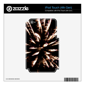 Drizzling Burst iPod Touch 4G Decal