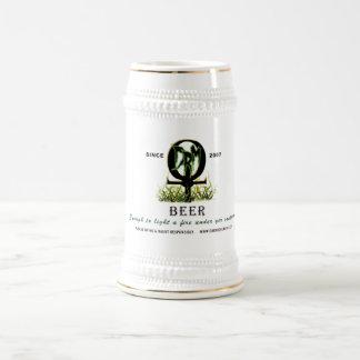 DRM Ankh Logo Beer Stein