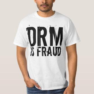 DRM es camisa del fraude