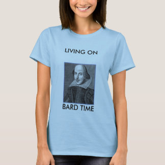 droeshout-1, LIVING ONBARD TIME T-Shirt