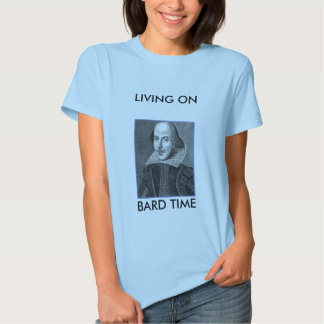droeshout-1, LIVING ONBARD TIME Tee Shirt