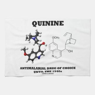 Droga antimalarial de la quinina de la opción hast toalla de mano