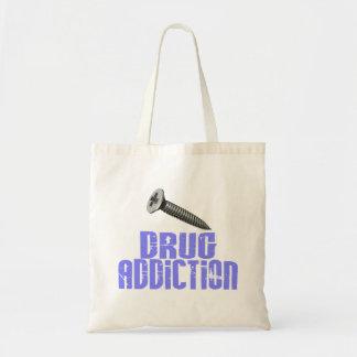 Drogadicción del tornillo azul clara bolsa