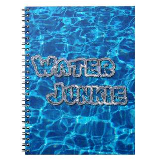 Drogadicto 3 del agua cuadernos