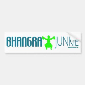 Drogadicto de Bhangra Pegatina De Parachoque