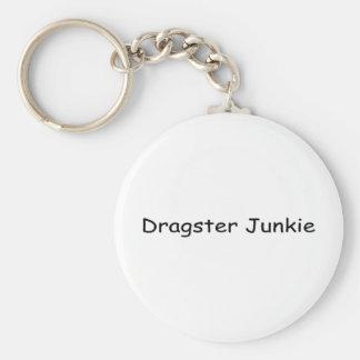 Drogadicto de Dragster Llaveros Personalizados