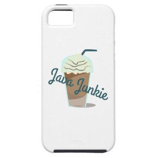 Drogadicto de Java iPhone 5 Case-Mate Protector