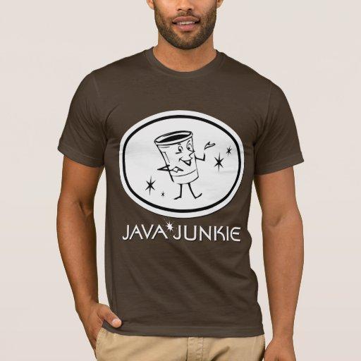 Drogadicto de Java Playera