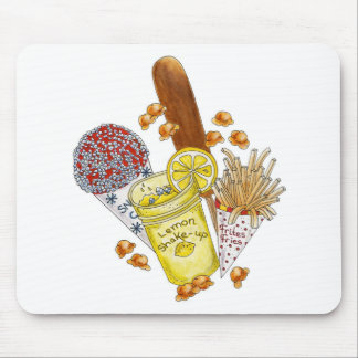 ¡Drogadicto de Junk Food! - Mousepad Tapete De Ratón