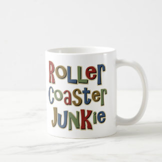 Drogadicto de la montaña rusa tazas de café